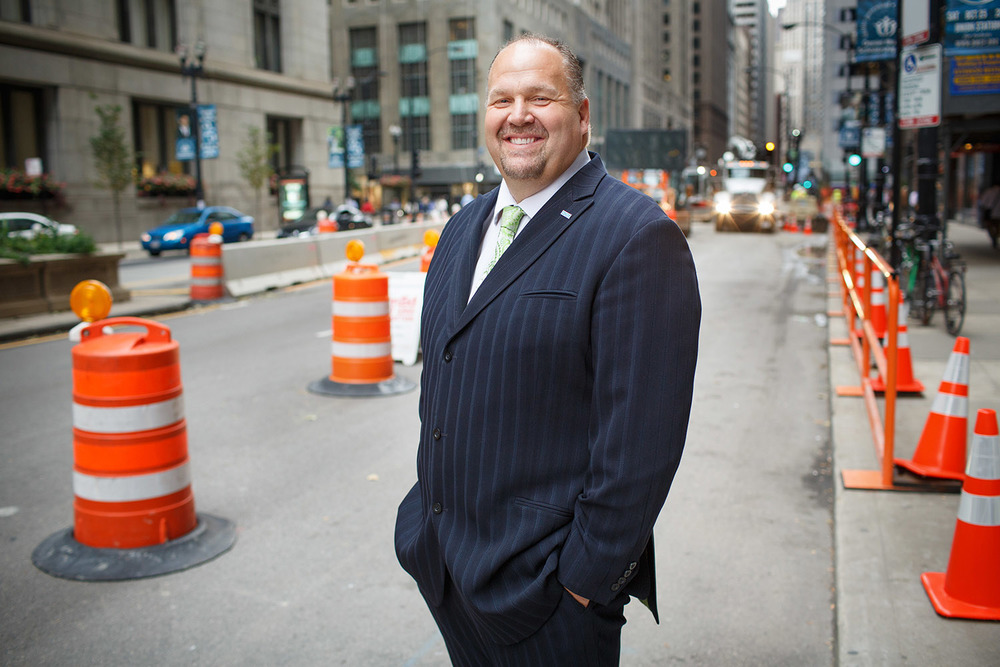 Lawrence Olszak, Director of Information Services at Chicago Department of Transportation (CDOT)