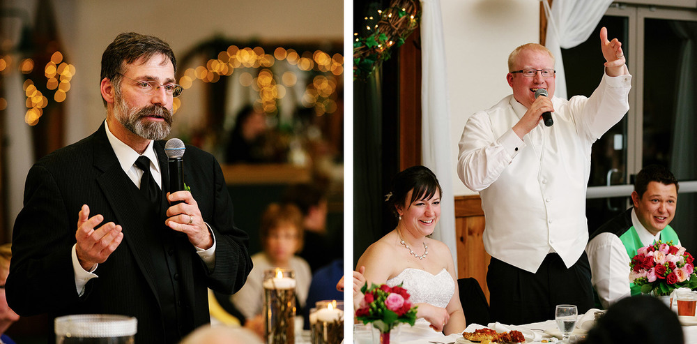 Brainerd wedding reception at Cragun's Legacy