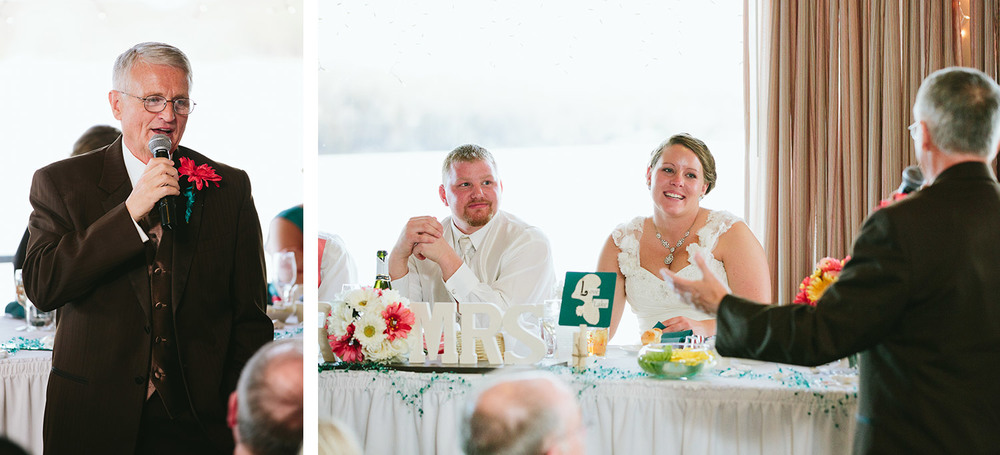 Saint Christopher's Nisswa Wedding and Cragun's Resort Reception