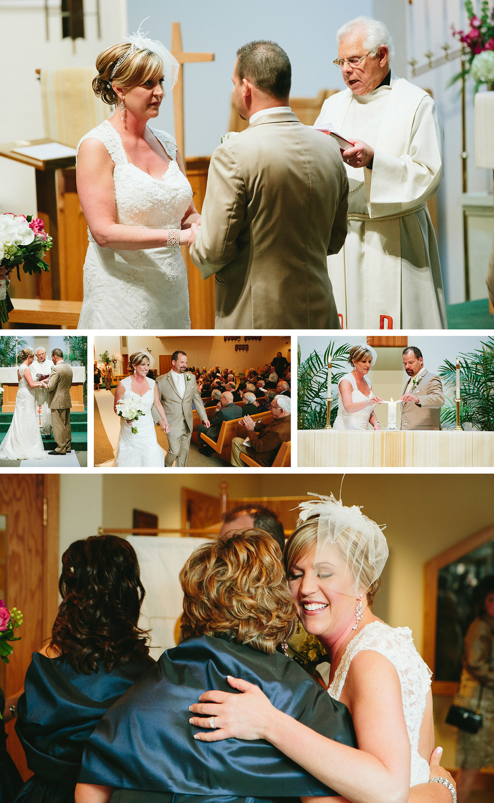 Crosslake Lutheran Church wedding