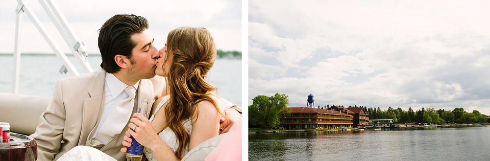 Breezy Point Resort Summer Wedding