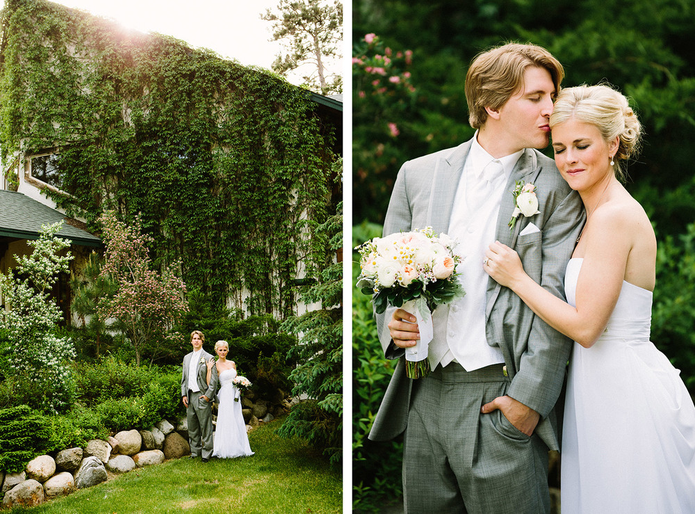 Crosslake MN Wedding Photographer at Manhattan Beach Lodge