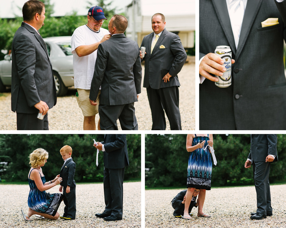 Minnesota Outdoor Lakeside Wedding at Lake Benton
