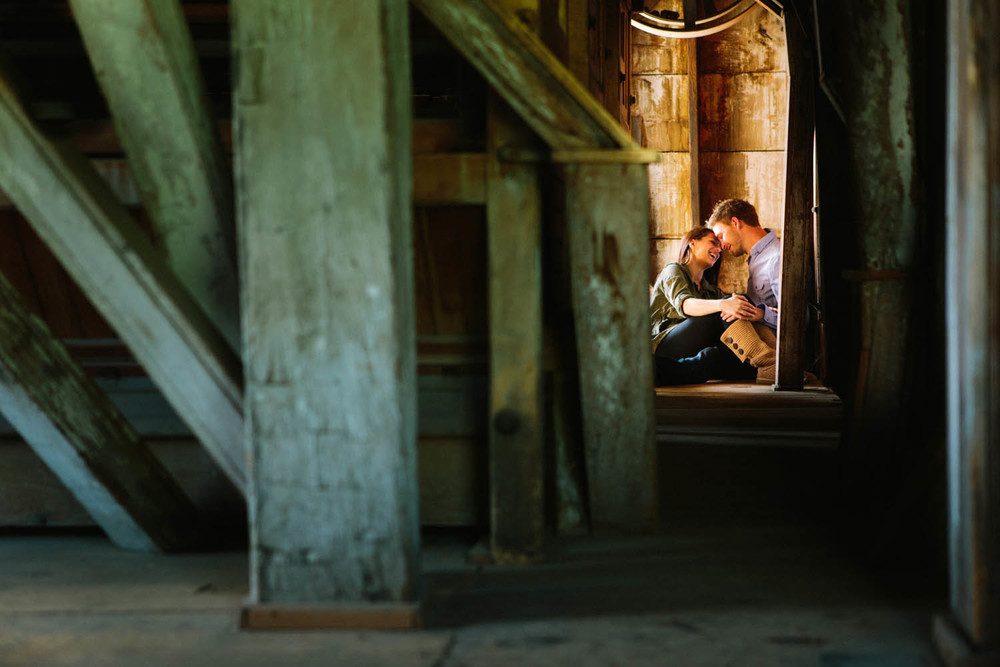 brainerd wedding engagement images