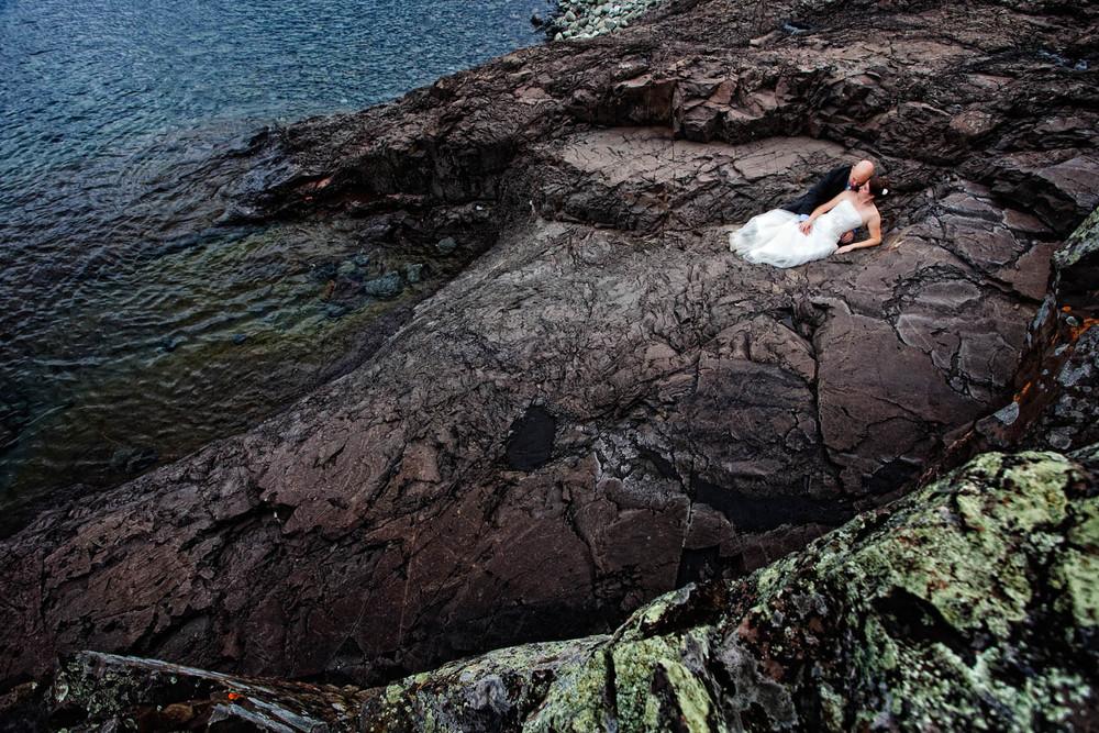 lutsen resort north shore wedding