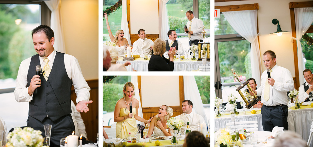 Cragun's Legacy Golf Course Summer Patio Wedding