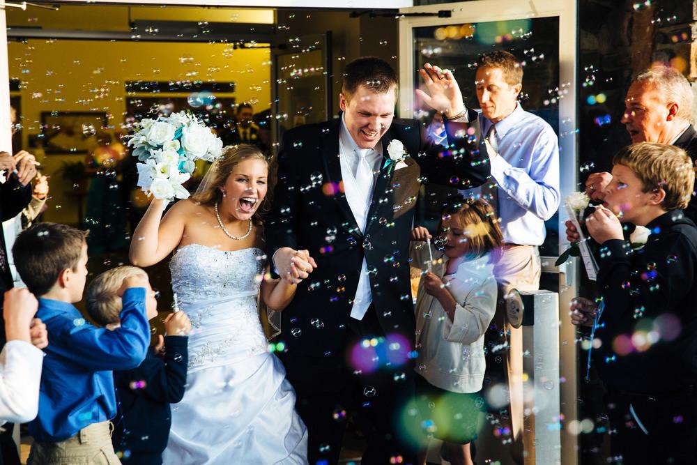 Staples, MN Fall Wedding at Faith Lutheran Church