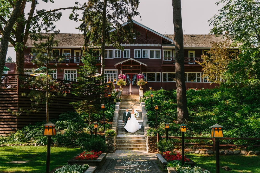 Grandview Lodge Wedding Ceremony Images