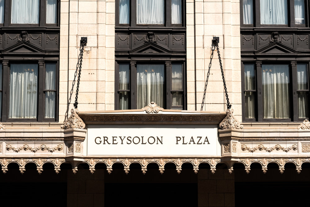 Greysolon Ballroom wedding facade