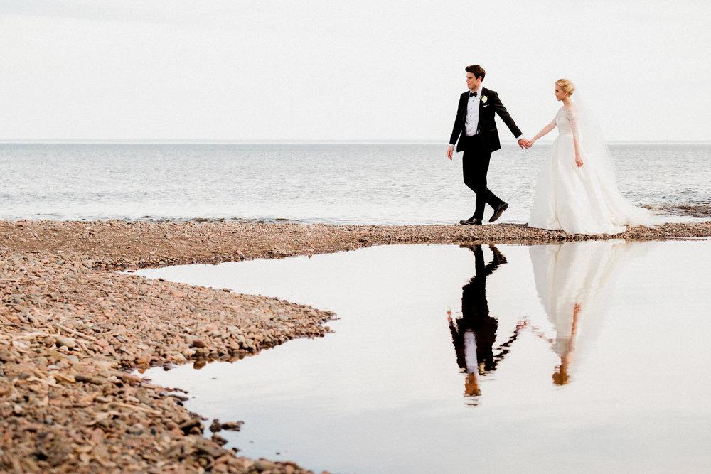 north shore minnesota wedding portraits