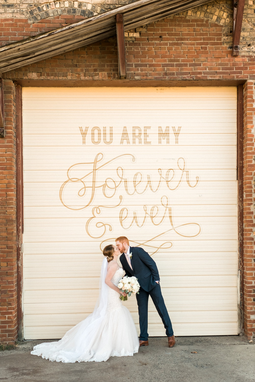 outdoor wedding signage NP Space minnesota