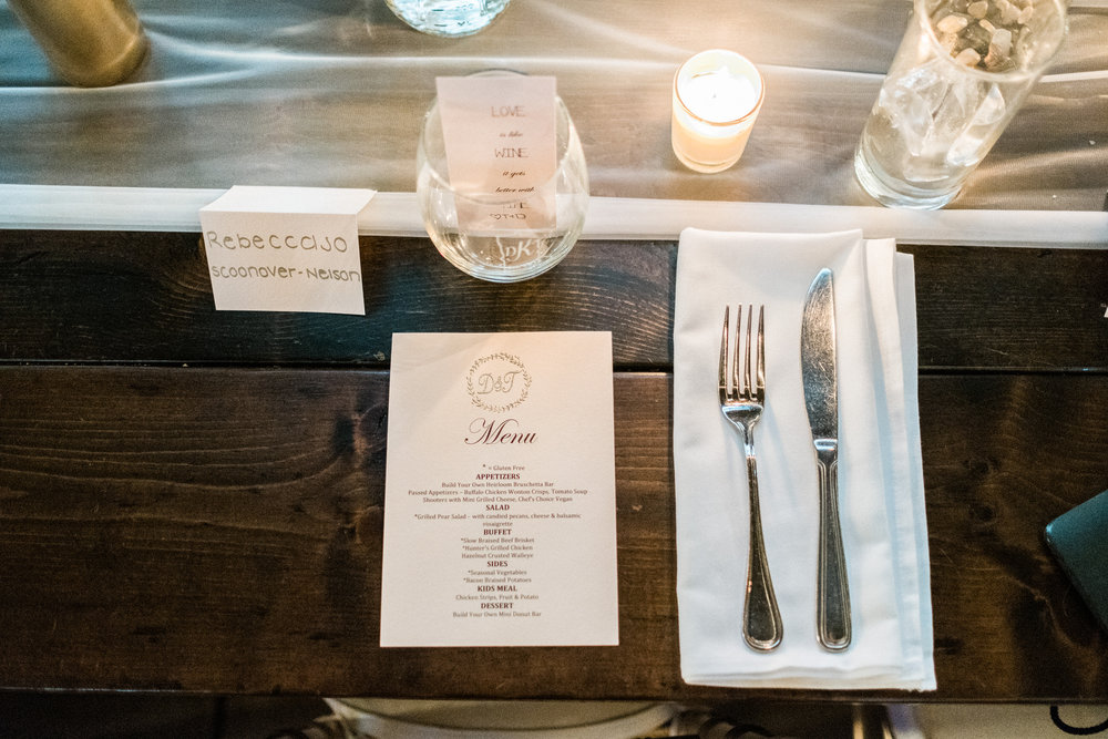 the place setting at the northern pacific center
