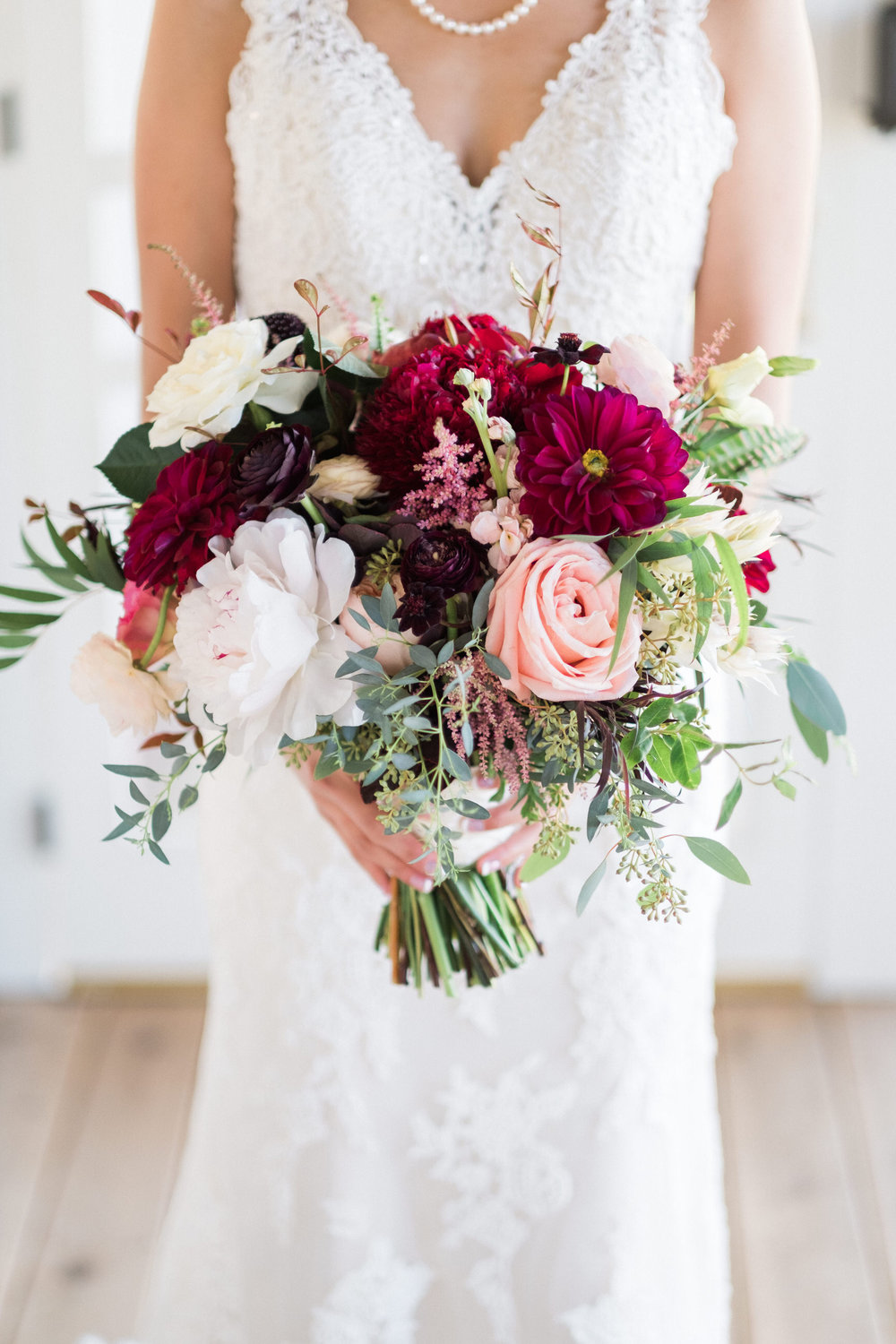 bridal bouquet by kate kuepers of bloom designs in brainerd, mn