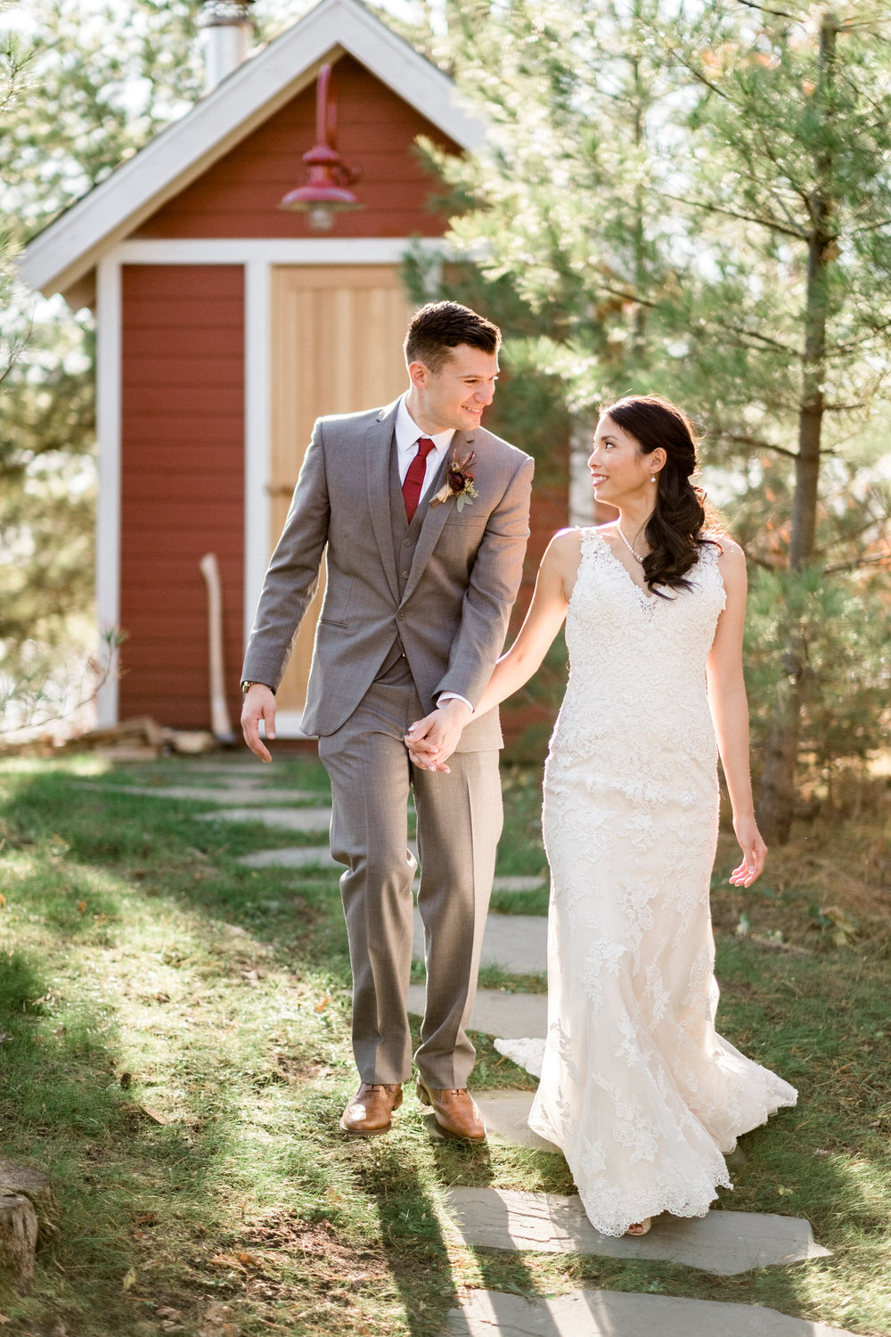 northern, mn barn wedding