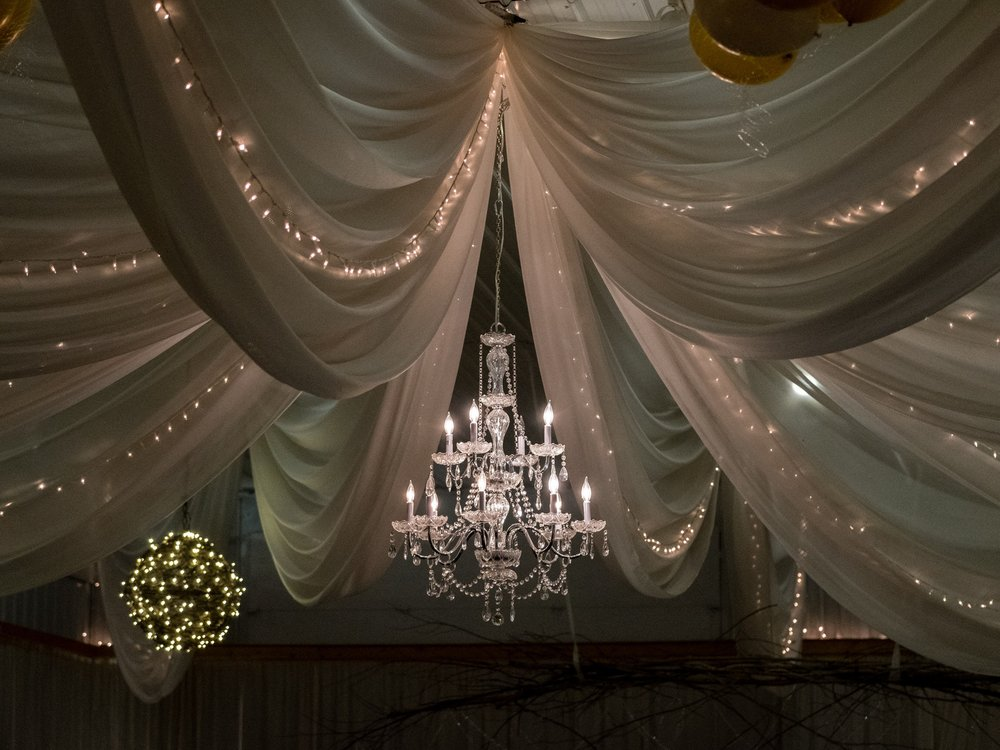 pine peaks event center reception hall decor