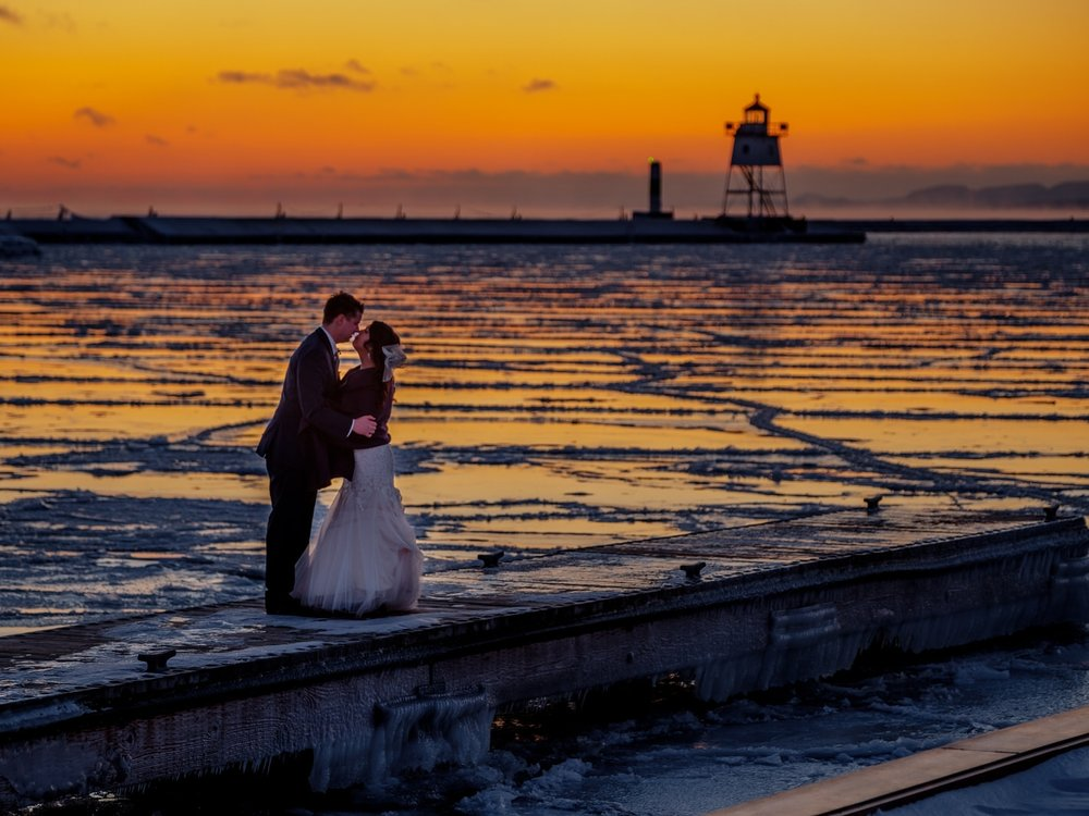 Lake Superior Wedding Phatographer