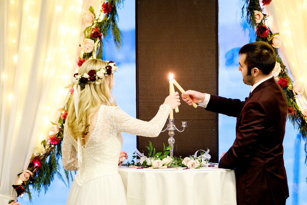 boho winter wedding at cragun's resort on gull lake