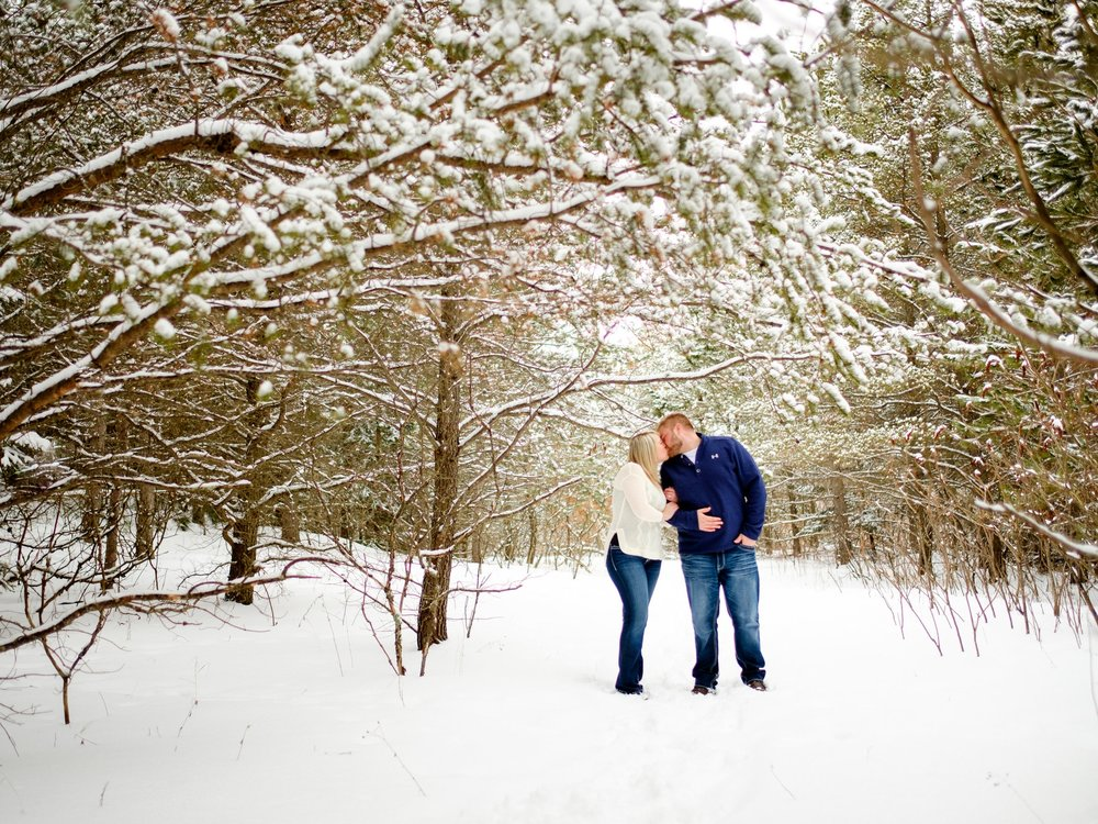 minnesota winter wedding photographer