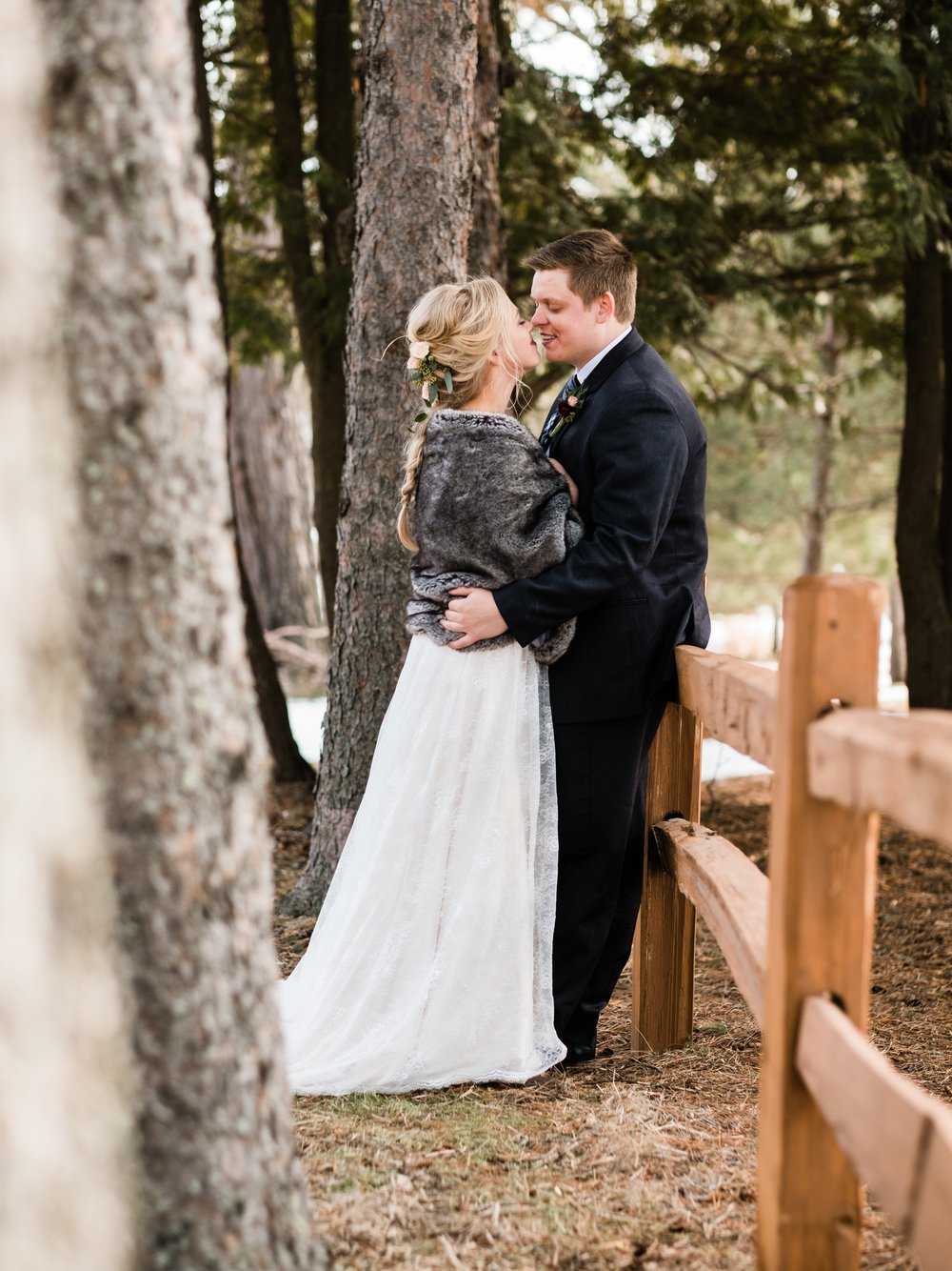 pine peaks wedding in crosslake photographer