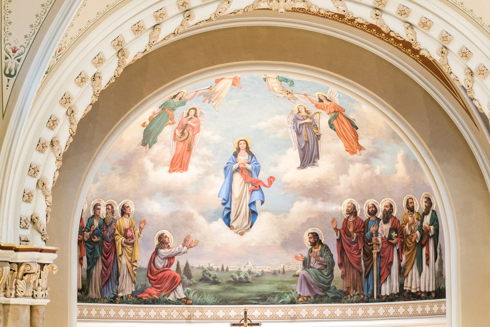 Our Lady of the Assumption Saint Paul Wedding