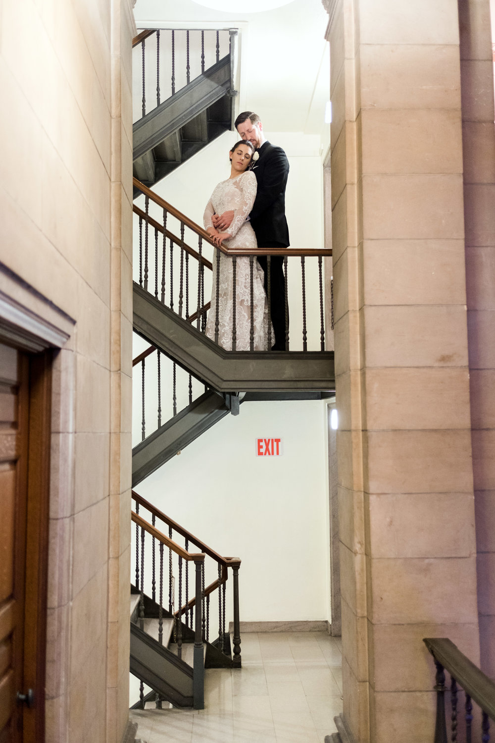 Wedding reception in Saint Paul at the James Hill Library