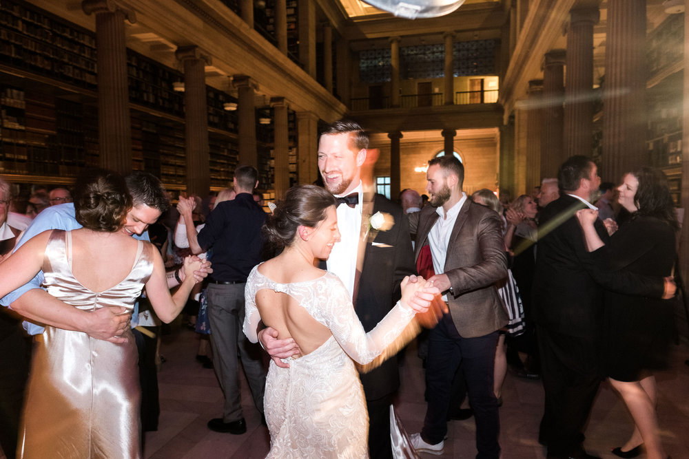 Wedding dance at the James Hill Library in Saint Paul