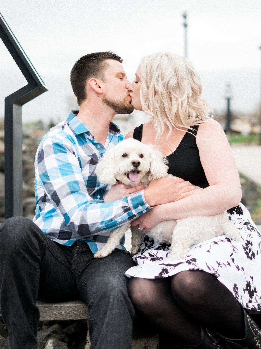 Duluth MN Canal Park Engagement Session