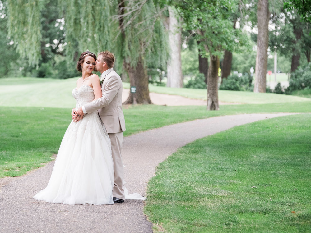 Marshall Golf Course summer wedding photographer