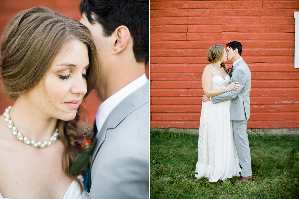 Lakeside destination wedding portraits in Northern Minnesota