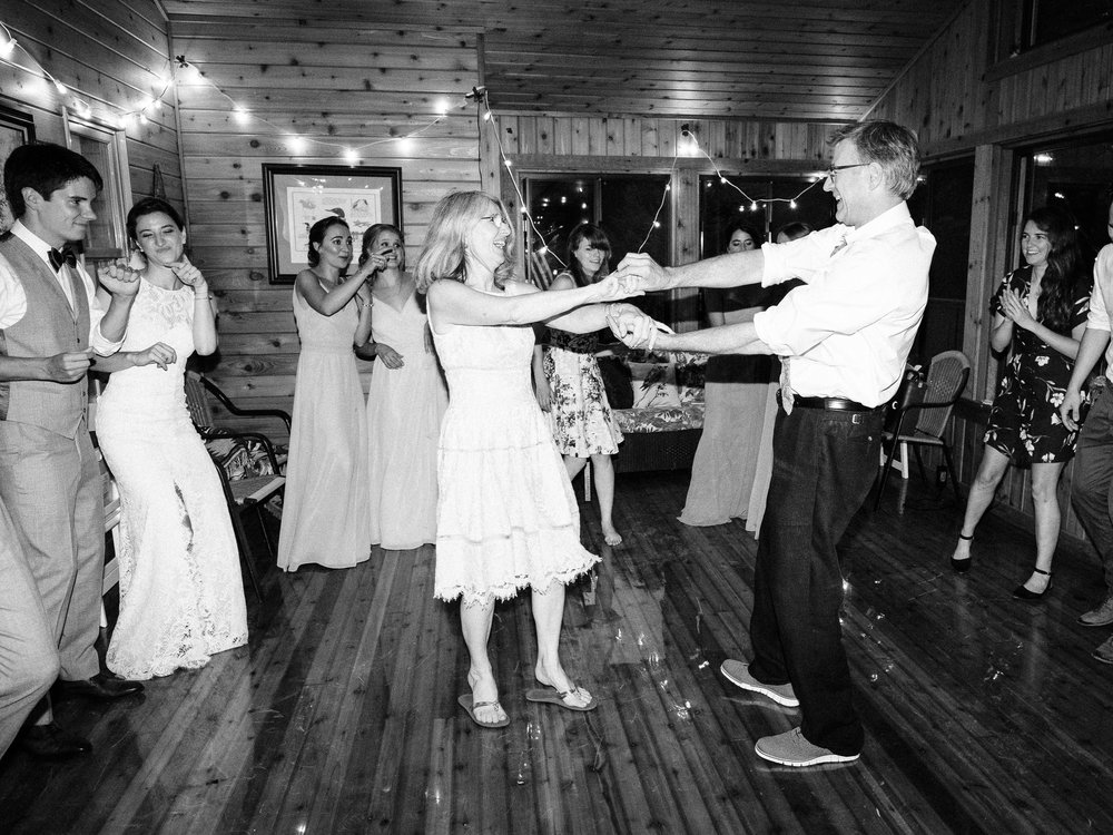 Minnesota wedding at the Couple's Cabin in Northern, MN