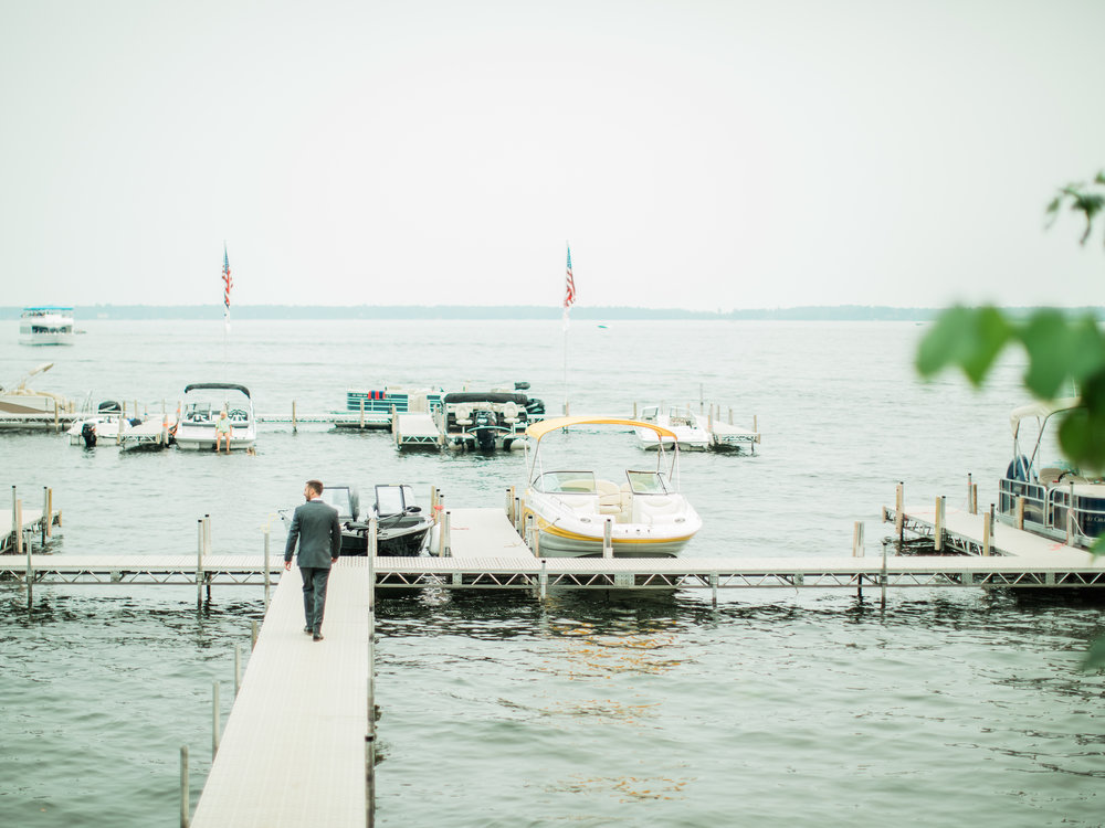 Quarterdeck Resort Gull Lake Wedding