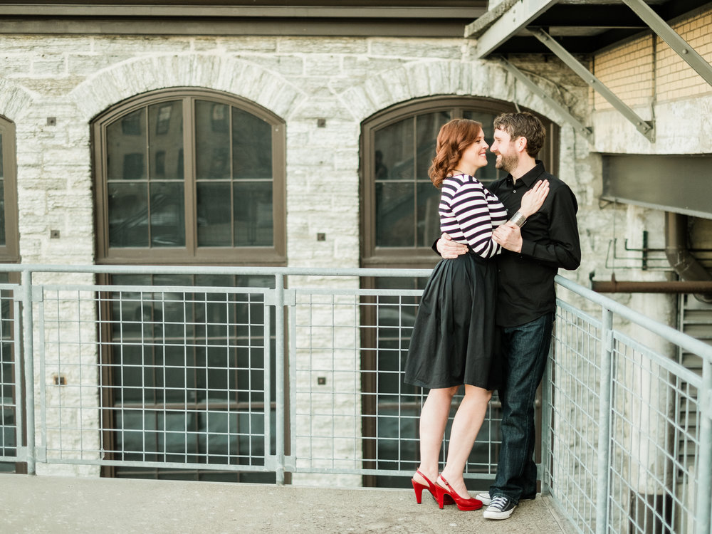 Mill City and Guthrie Theater Engagement Session