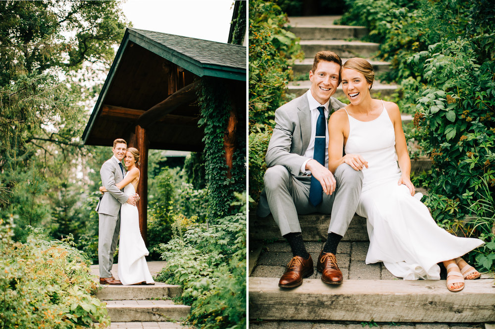 Lakeside Patio Wedding at Manhattan Beach Lodge in Crosslake, MN