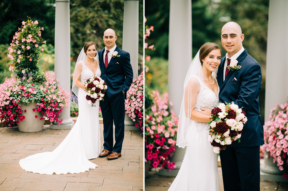 Olympic Hills Golf Course Patio Wedding in Edina