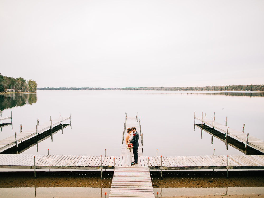 Crosslake MN Fall Wedding