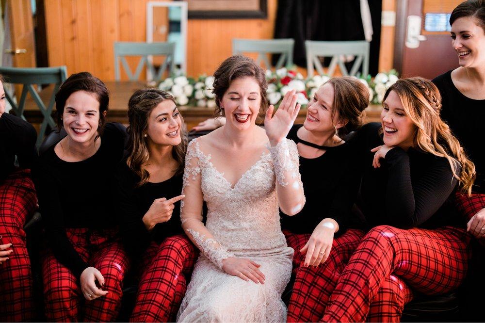 Grand View Lodge winter wedding in Nisswa, MN