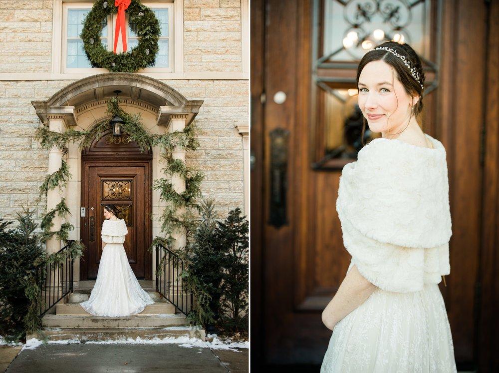 Scottish Winter Wedding at the Saint Paul College Club