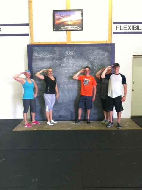 "Endless CrossFit's 1st ""Murph"" crew...  Everyone did great!"