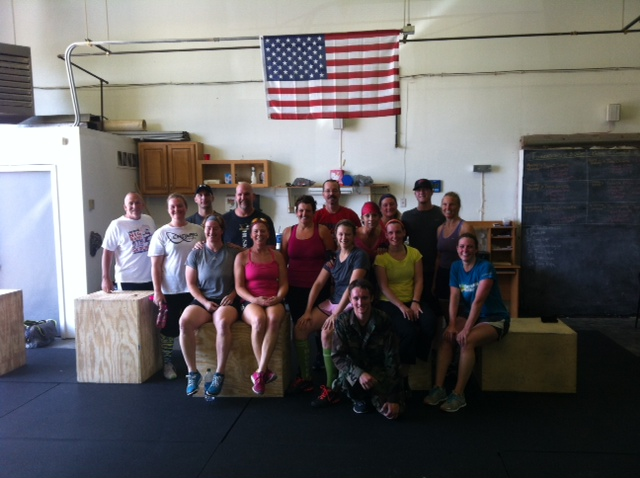 Thanks to all who participated in the 4th of July WOD!