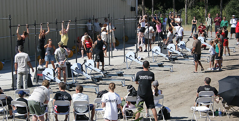 Castro Ranch - 2007 CrossFit Games - 60 participants