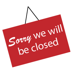 WE ARE CLOSING ON SATURDAY TO WORK ON THE NEW PLACE. HOPEFULLY, WE WILL BE BACK AT IT ON MONDAY MORNING. KEEP A LOOK OUT FOR SCHEDULE CHANGES.