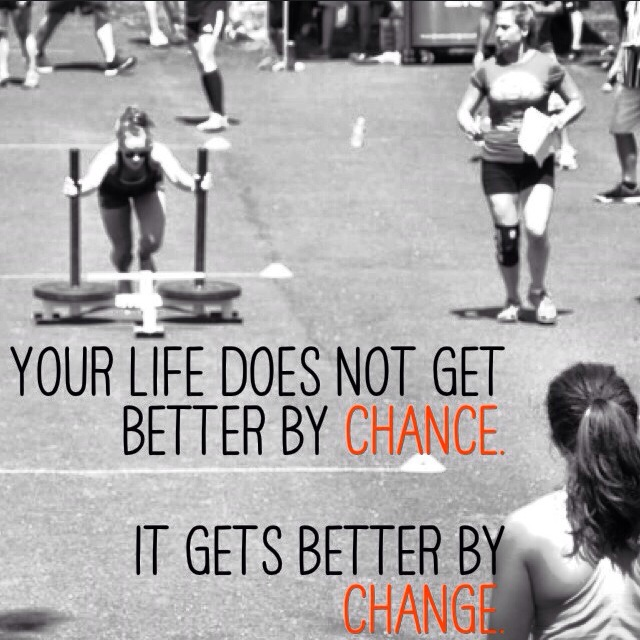 Change is a constant-which way will you change is a decision!
