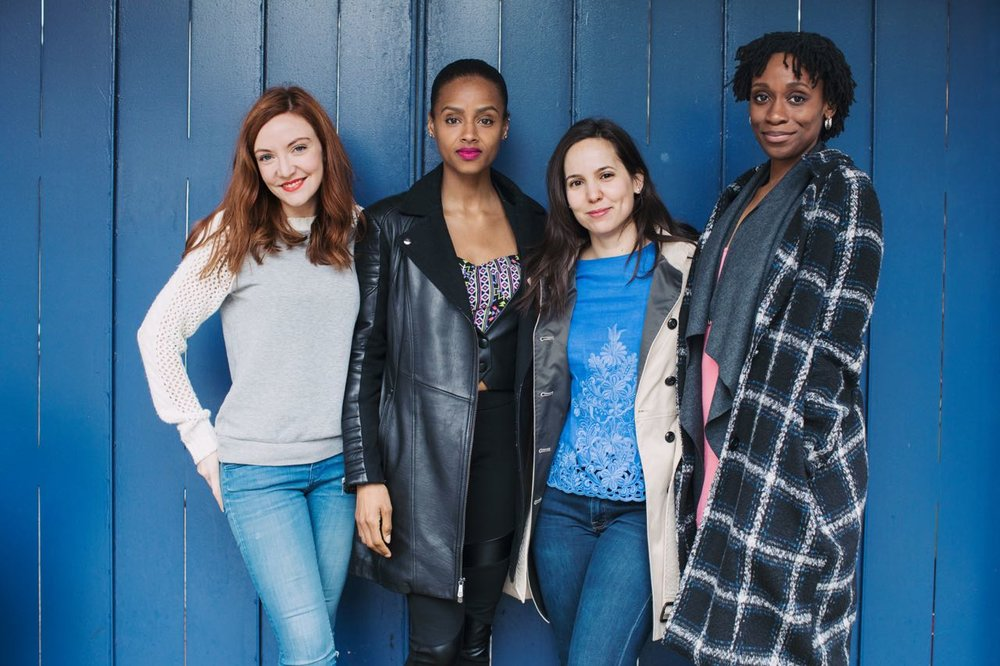 From left: Sarah Street,Lakisha Michelle May, Annie Dow, and Chinasa Ogbuagu.