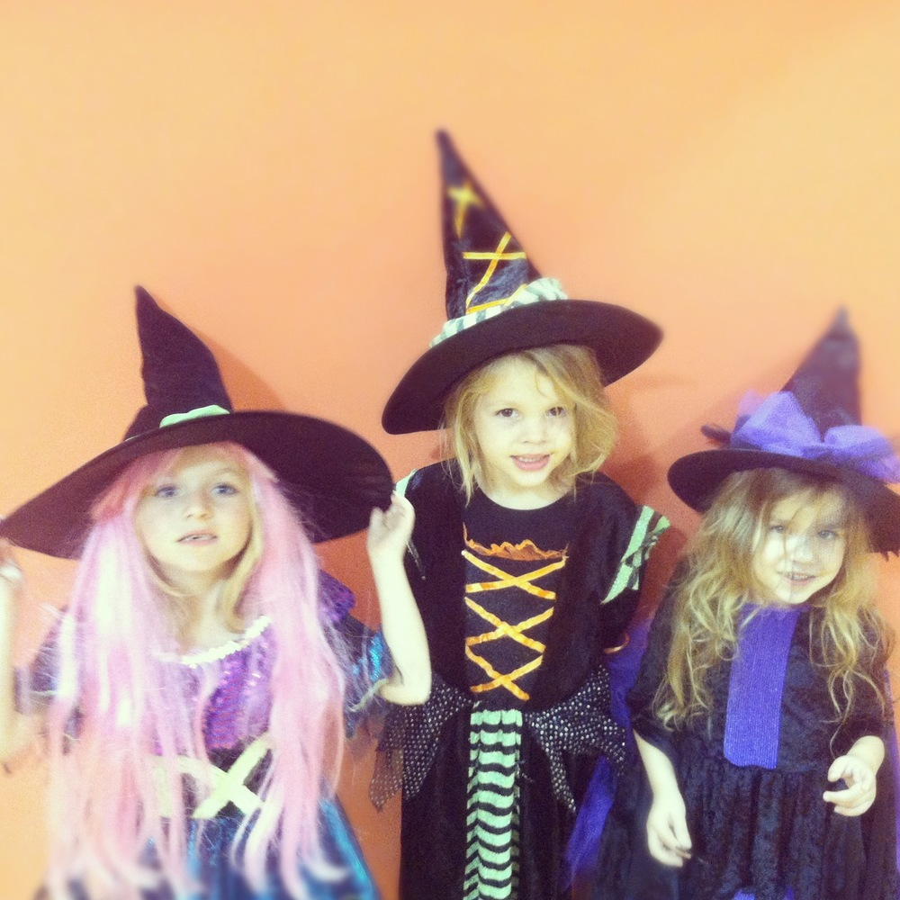 primary II witches at halloween