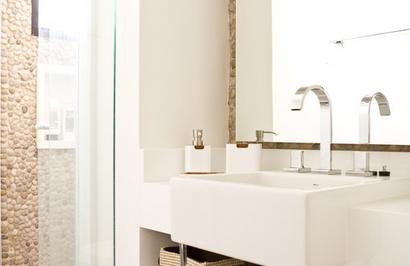 Banho Casal - Apartamento de até 99m2 - Fonte: Madi Arquitetura e Design