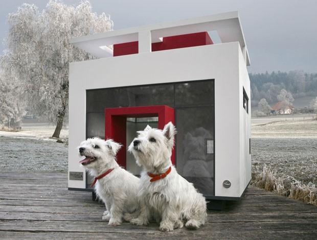 Foto da casinha Cubix, dos deseigners da  Best Friend's Home -http://casavogue.globo.com/Design/noticia/2013/07/uma-mansao-para-o-seu-cachorro.html