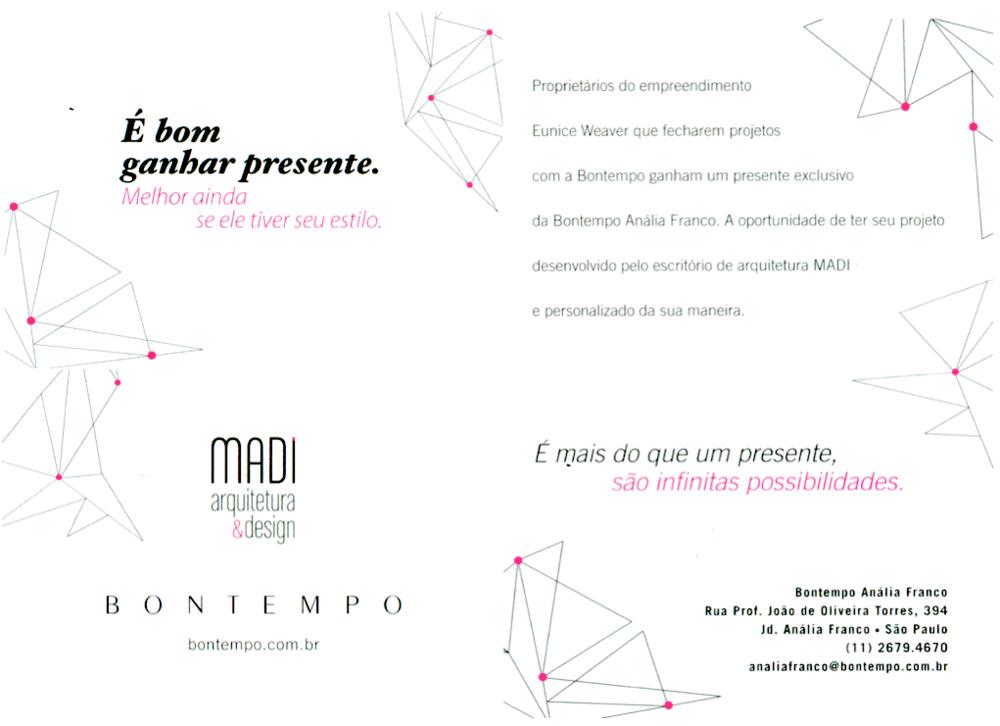 Convite Bontempo - Madi  Fevereiro/2014