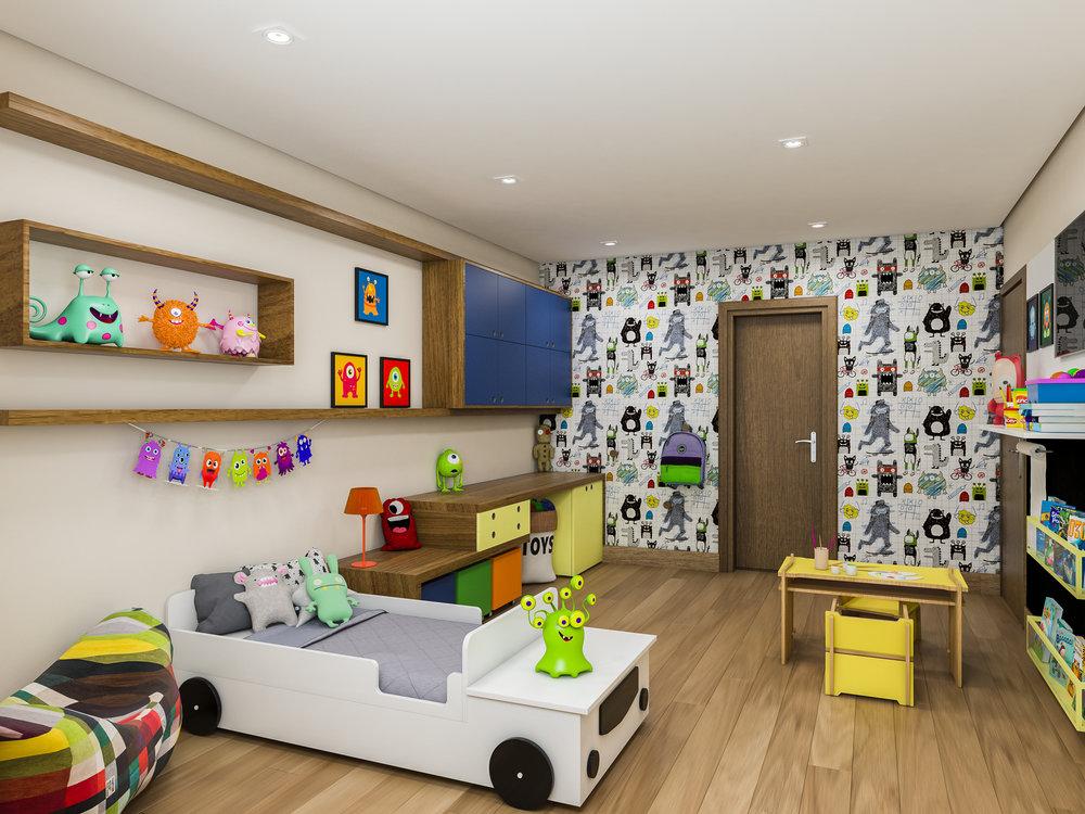 Quarto Infantil  Residência Porto Feliz - Porto Feliz /SP  Projeto: Madi Arquitetura & Design  Imagem: Érica Alfieri