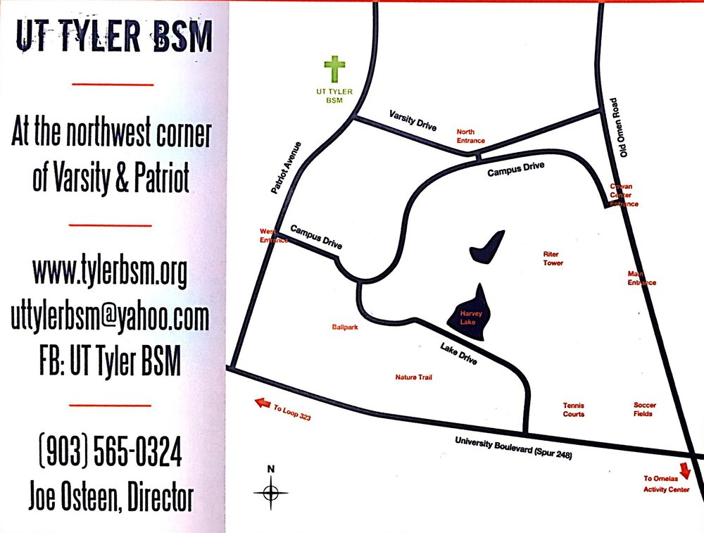 Map to BSM Building