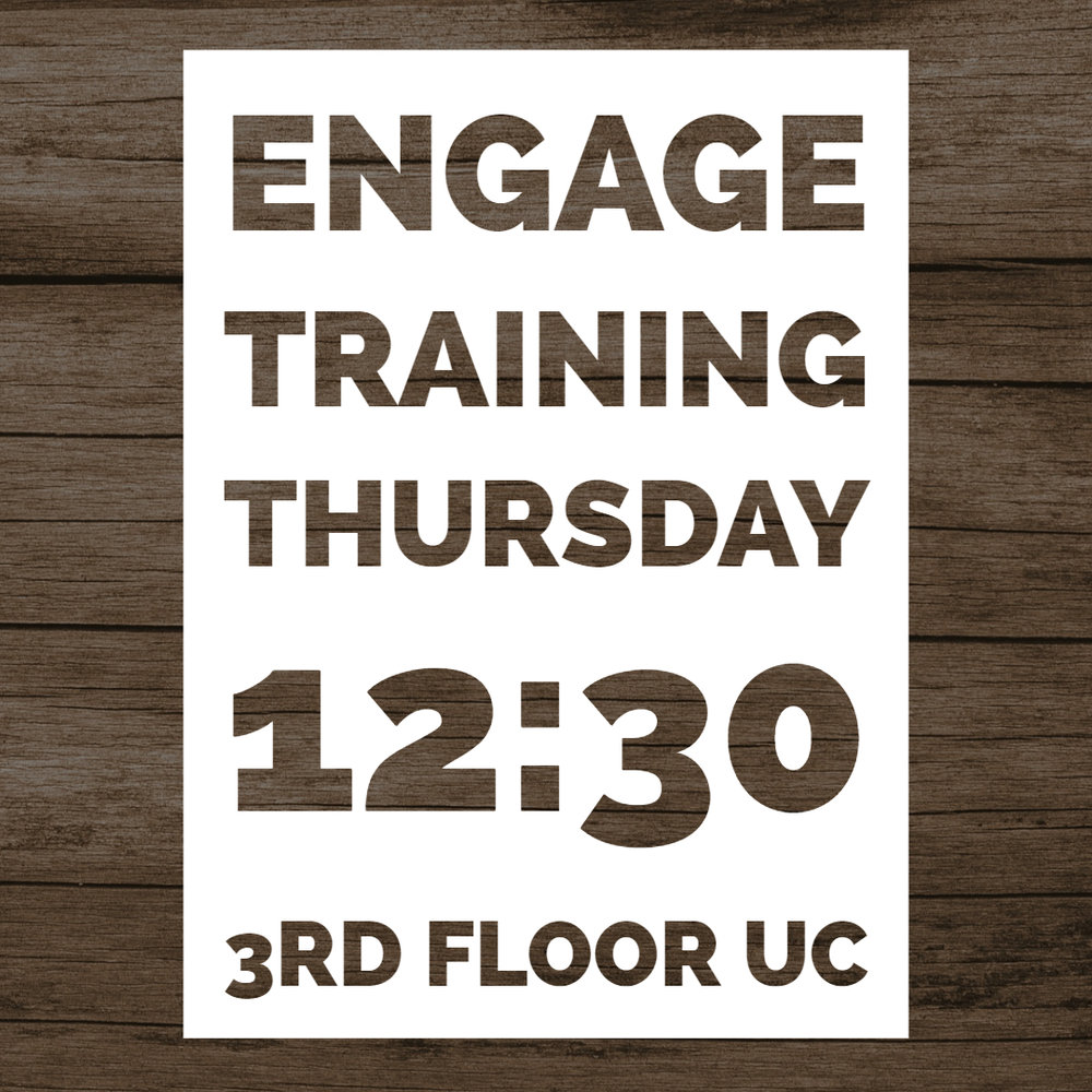 ENGAGE TRAINING - An opportunity to learn to share your faith.